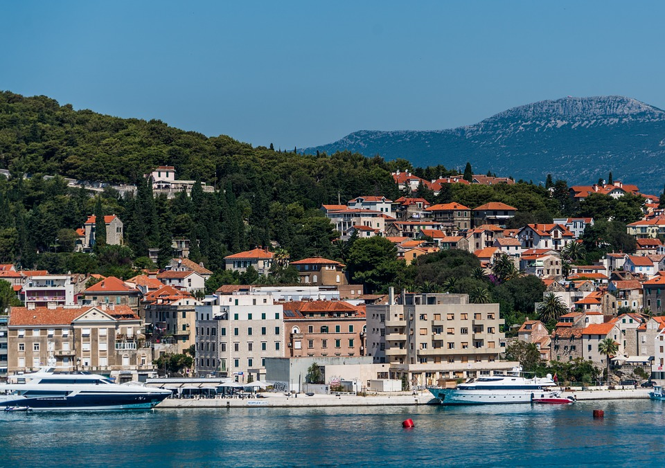 Exploring The City Of Split In Croatia