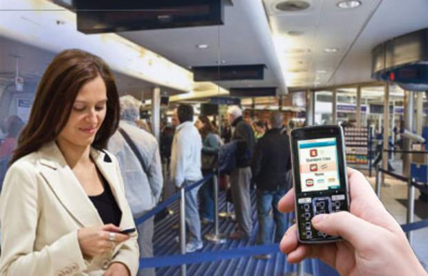 Travelers Providing Details Using Smartphones Became Critical At The Security Check