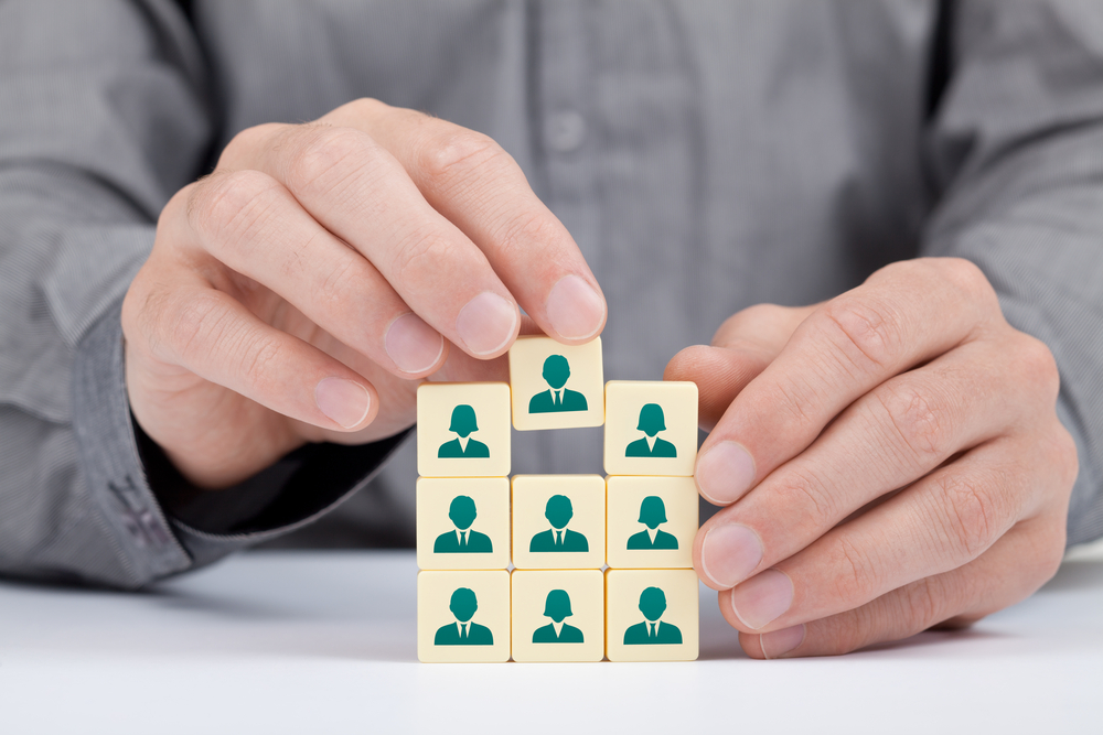 Human resources and social networking concept - Shutterstock