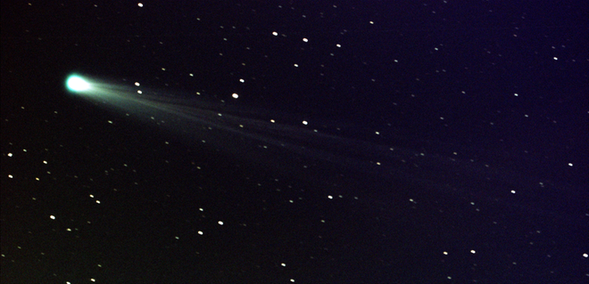 Comet ISON Encounters The Sun And Comes Back
