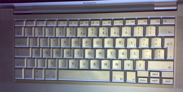 Learning Dvorak Keyboard Layout