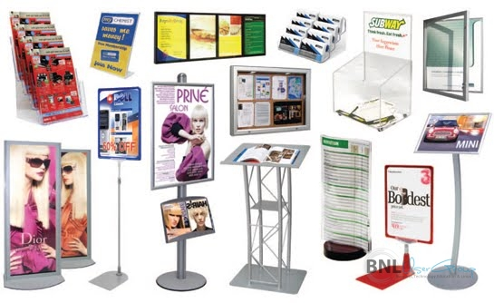 Pay and Use Display Stands - Increase Visibility of Your Product
