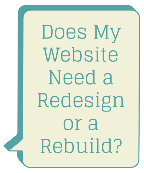 5 Tops Reasons To Redesign A Website
