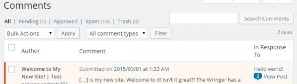 Trackback Validator Plugin For WordPress