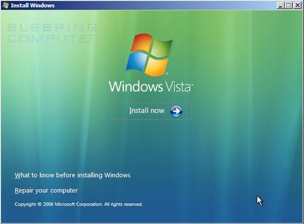How To Repair Microsoft Windows Vista