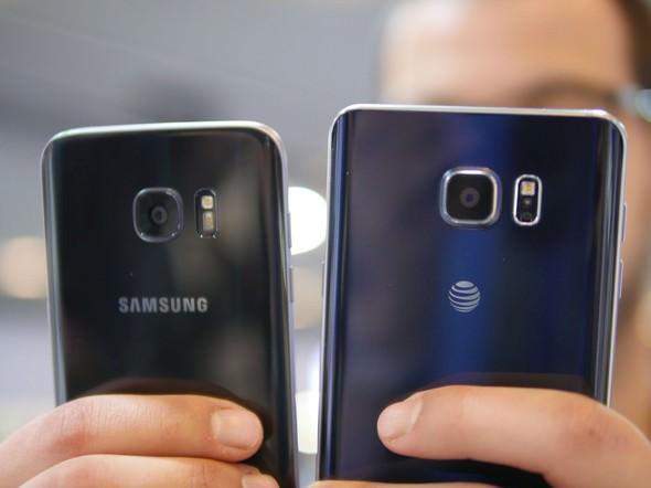 Samsung Galaxy Note 7 Vs Galaxy S7 Edge Specs And Comparison1