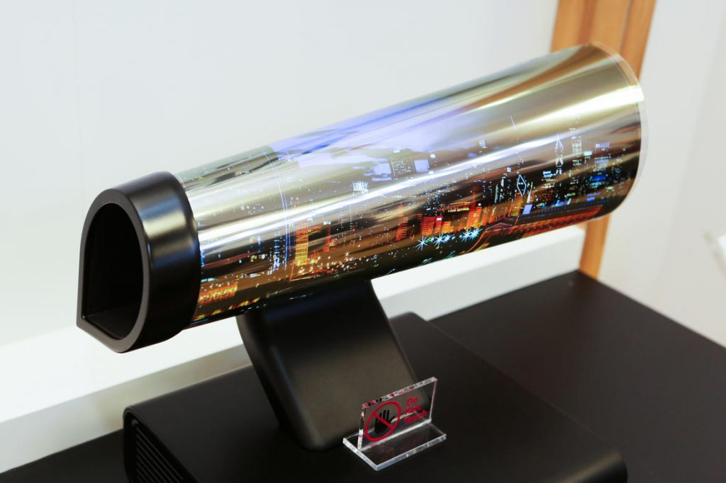 LG Rollable OLED