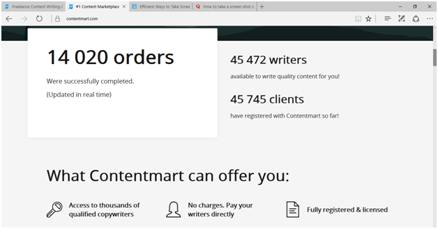 What Freelance Writers Want To Know About Contentmart