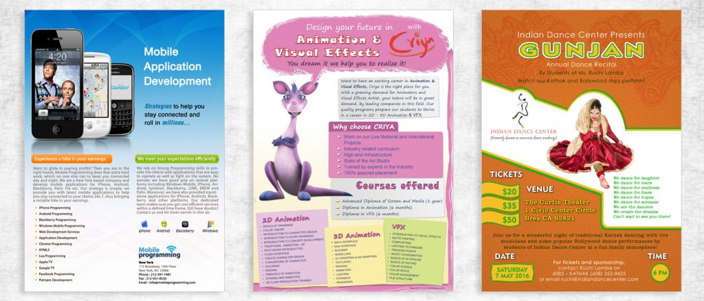 Some Of The Top Brochure Designing Templates