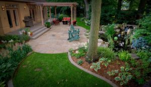 How to Properly Re-Landscape Our Backyard