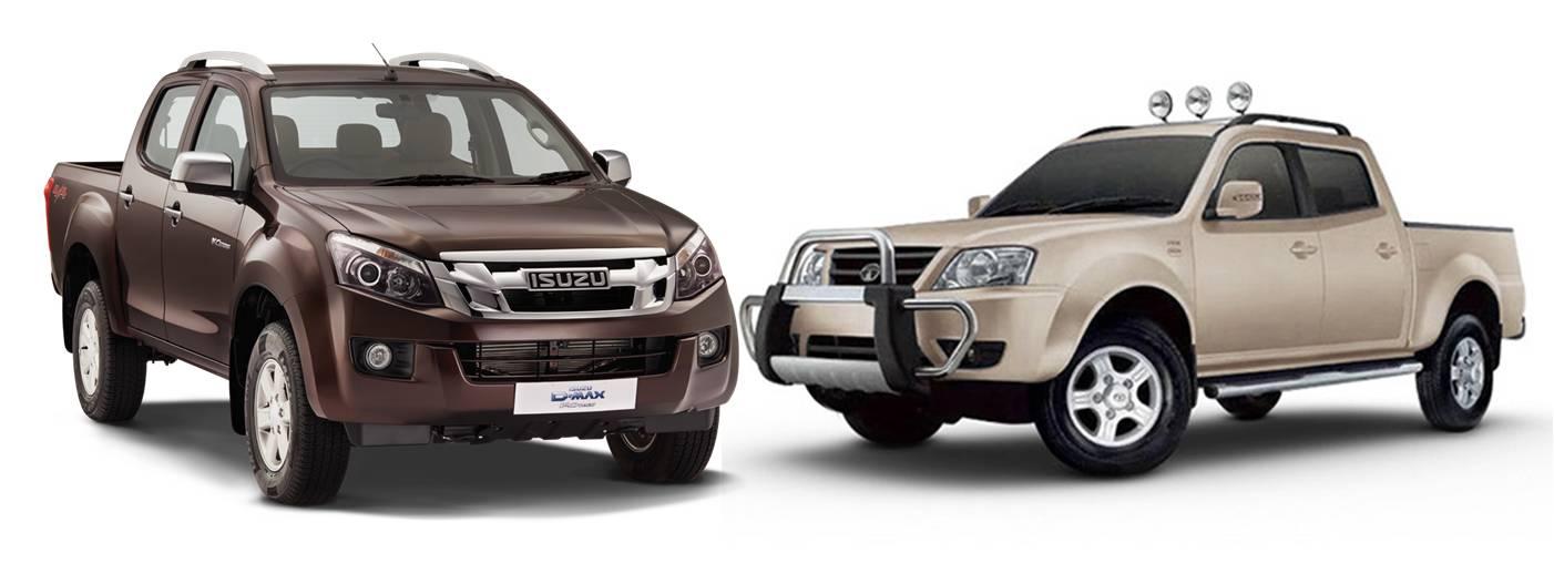 Isuzu D-Max V-Cross vs Tata Xenon XT