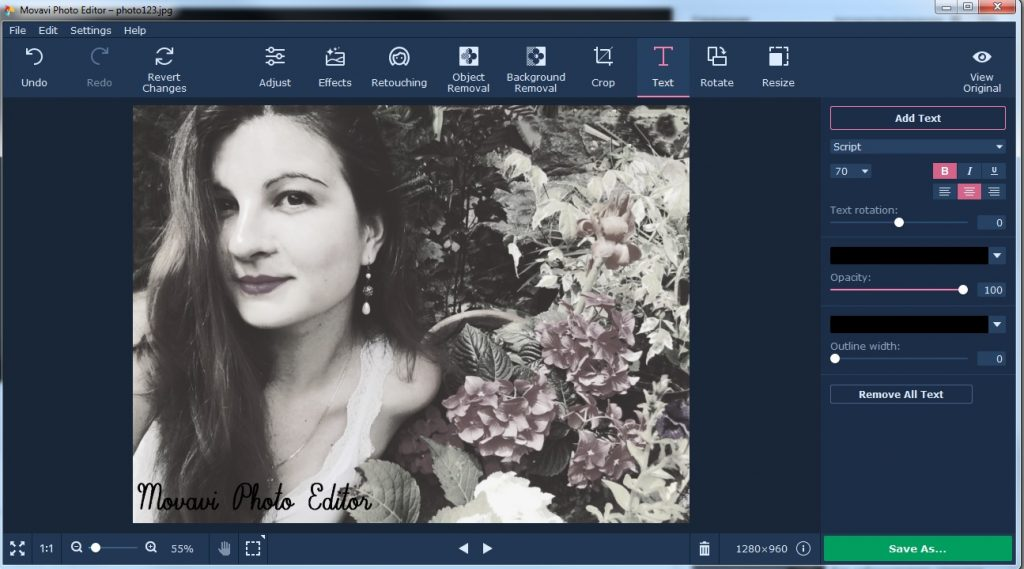 How To Edit Portrait Photos With Movavi Photo Editor