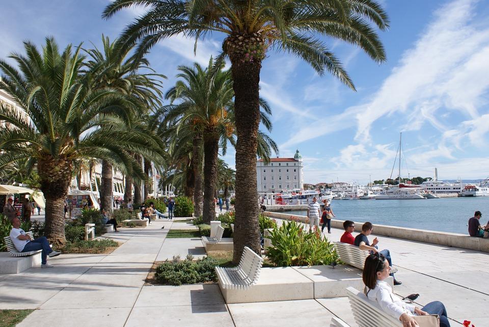 Exploring The City Of Split In Croatia