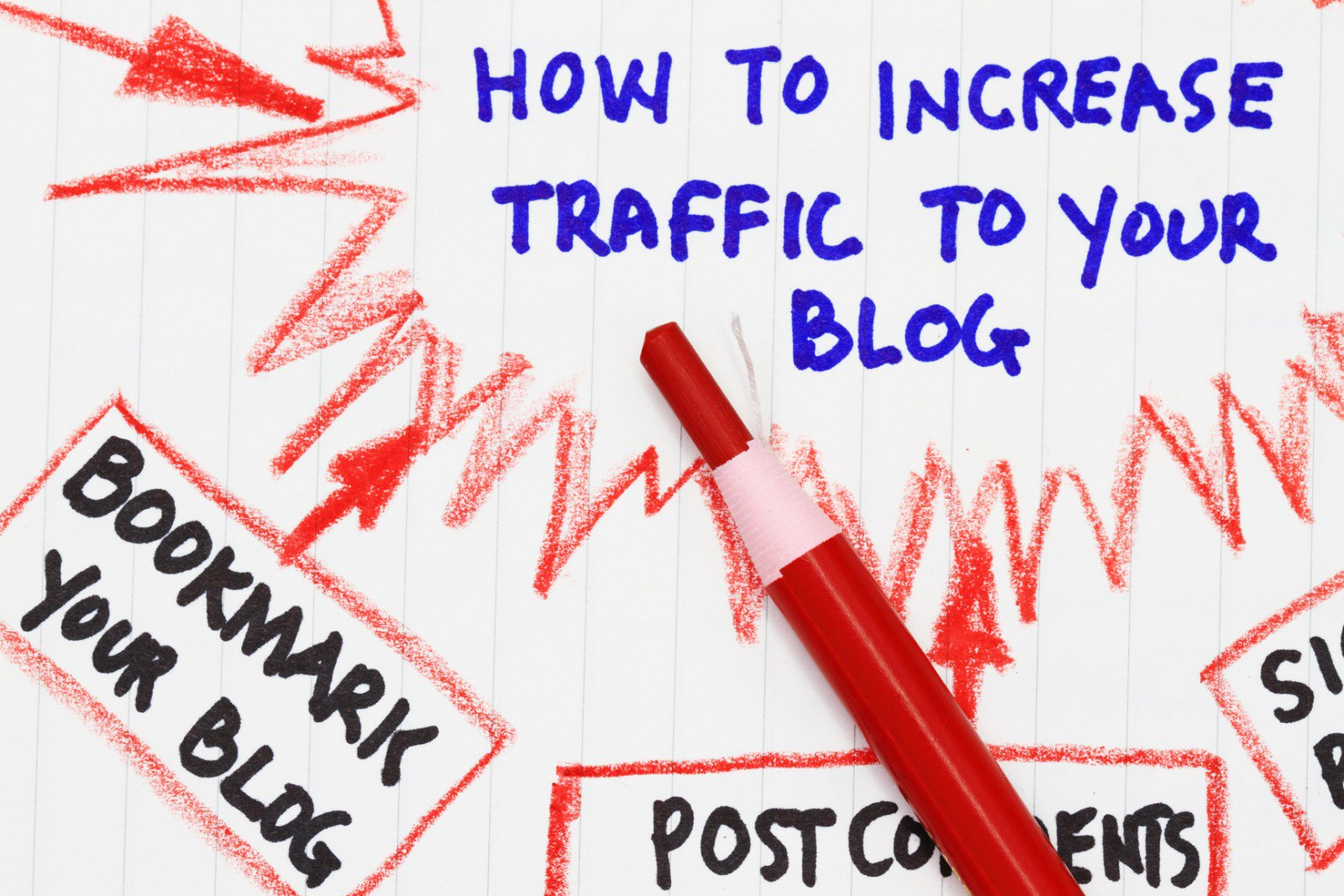 Easy Ways To Get Traffic On Blogs