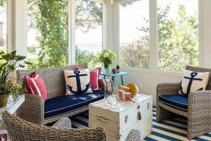 How to Design a Coastal Themed Sunroom