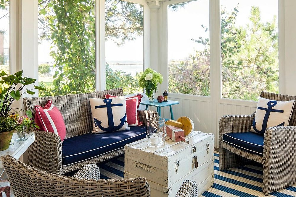 How to Design a Coastal Themed Sunroom