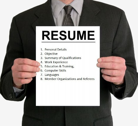 Take Your Resume Out Of The Rough